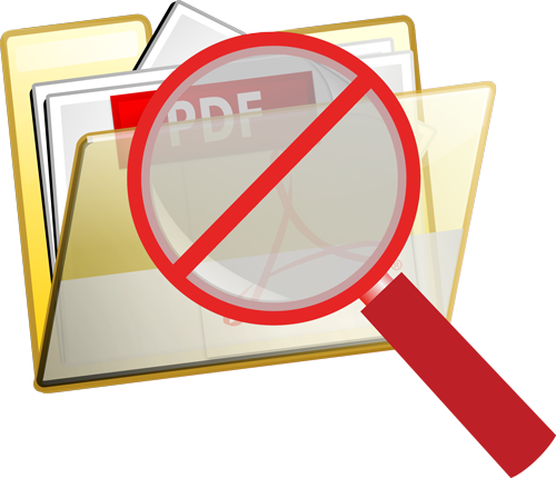 How and Why to Hide Your PDF Content from Search Engines